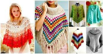 50 Free Crochet Poncho Patterns for All