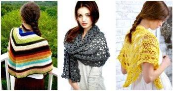 100 Free Crochet Shawl Patterns – Free Crochet Patterns