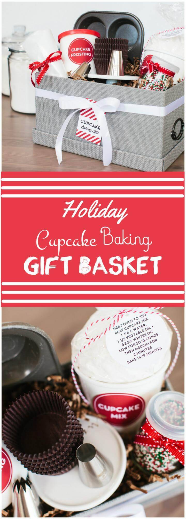perfect holiday cookie baking gift basket
