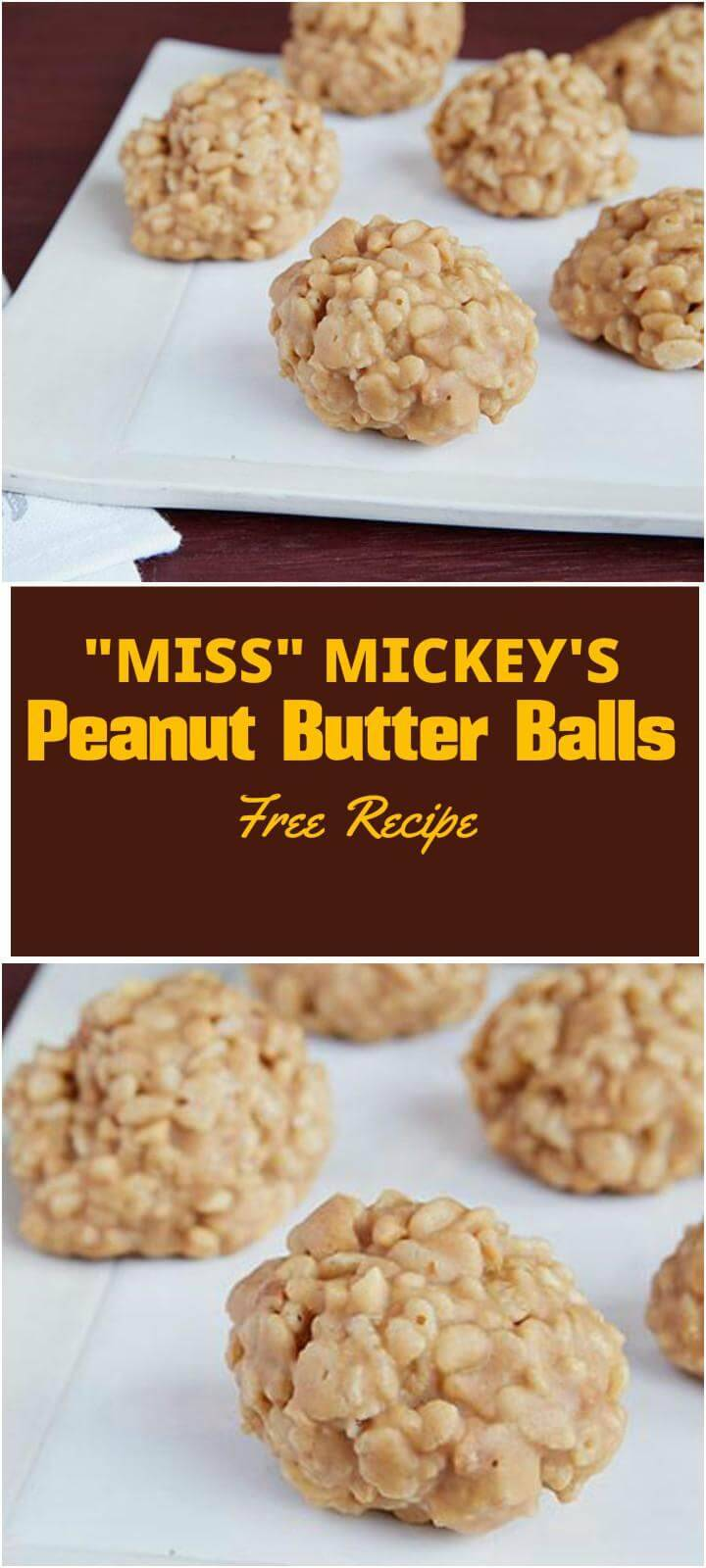 quick peanut butter balls recipe