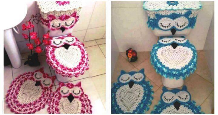 Cool Owl Bathroom Set Free Crochet Pattern Diy Crafts Dailytribune Chair Design For Home Dailytribuneorg