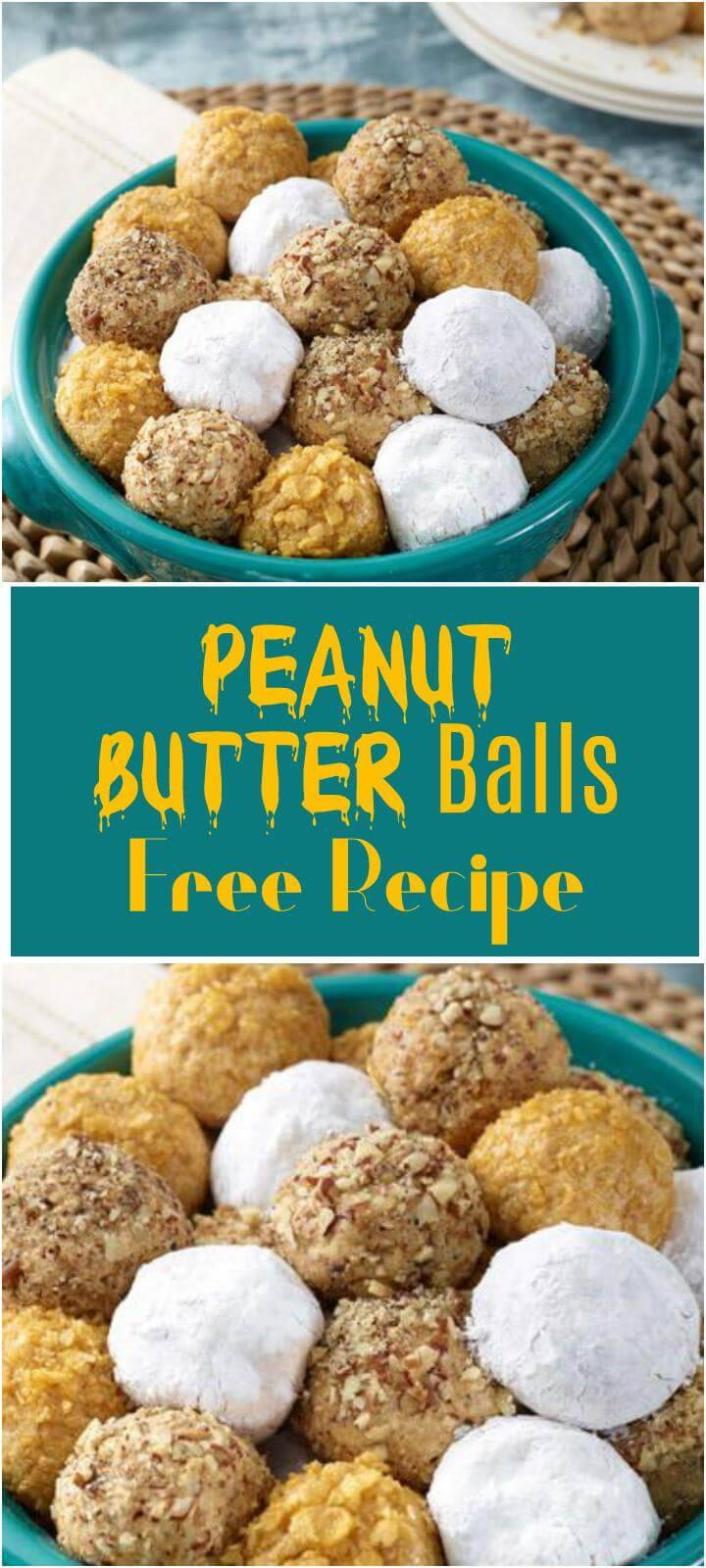 easy and quick peanut butter balls recipe