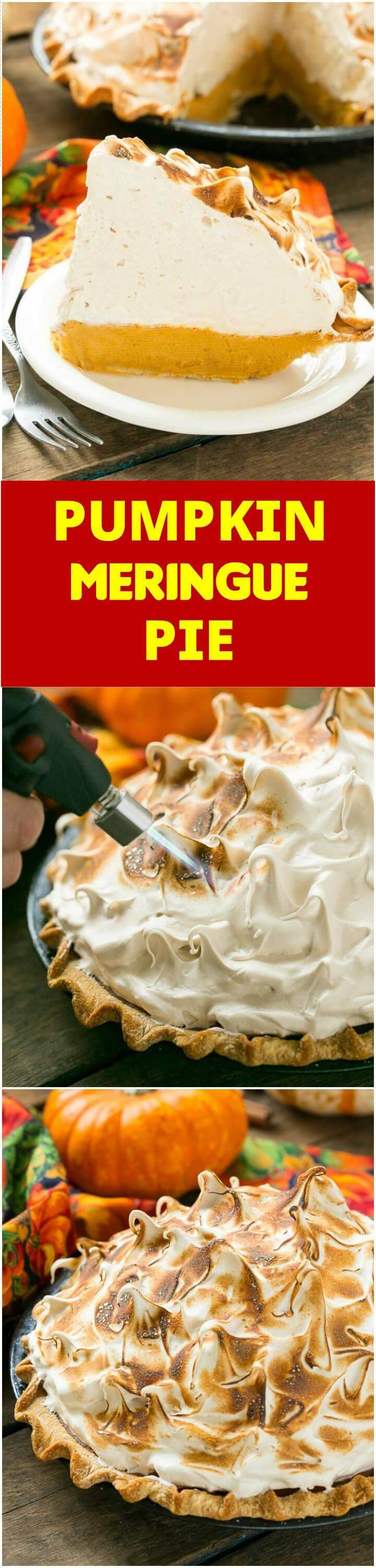 easy pumpkin meringue pie