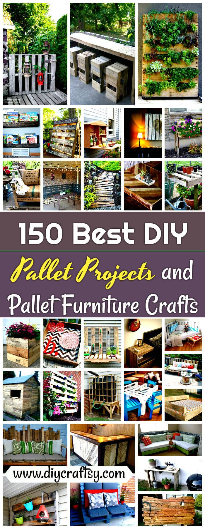 Pallet Projects and Pallet Furniture Crafts