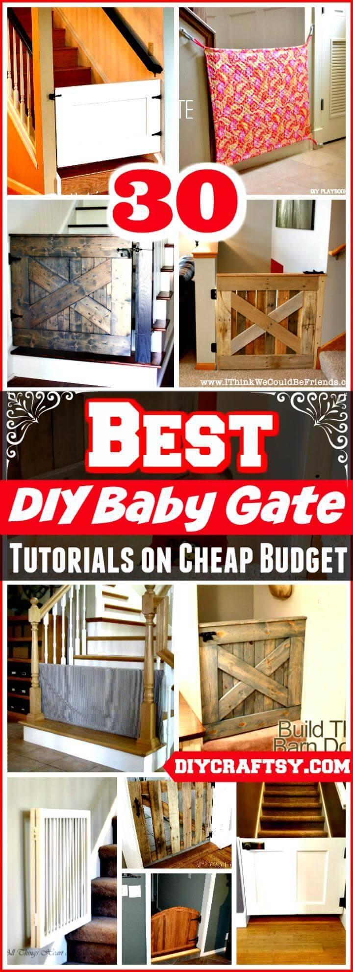 DIY Baby Gate