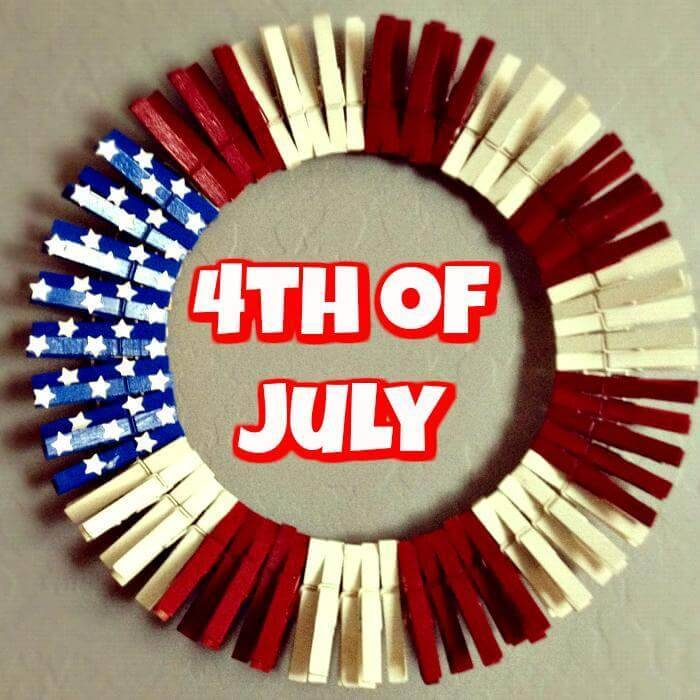 4th of July Wreath DIY Project