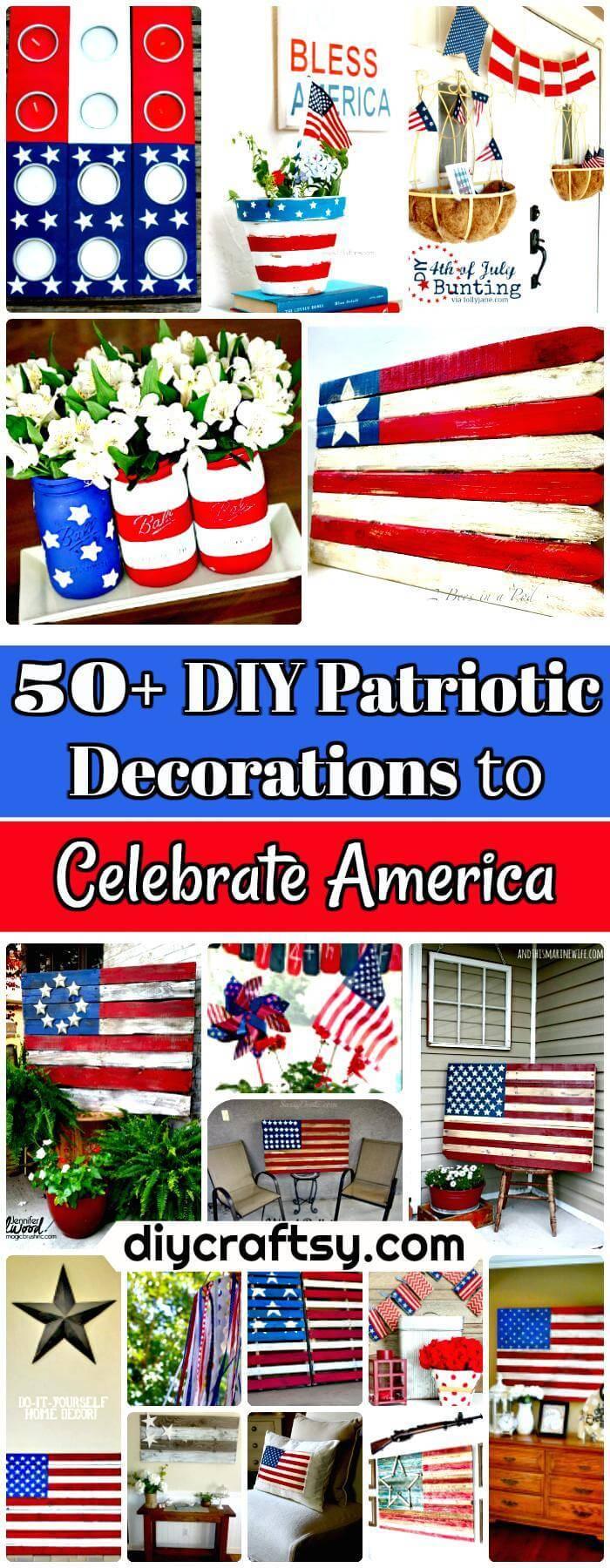 DIY Patriotic Decorations