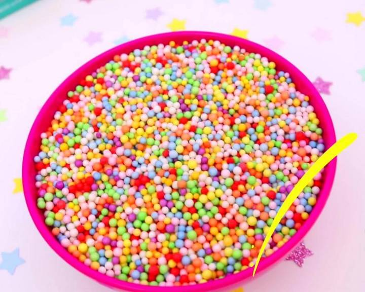 Colorful Beads to Add to Slime