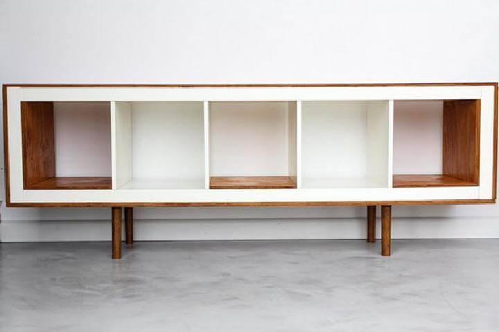 Custom IKEA Kallax TV Stand