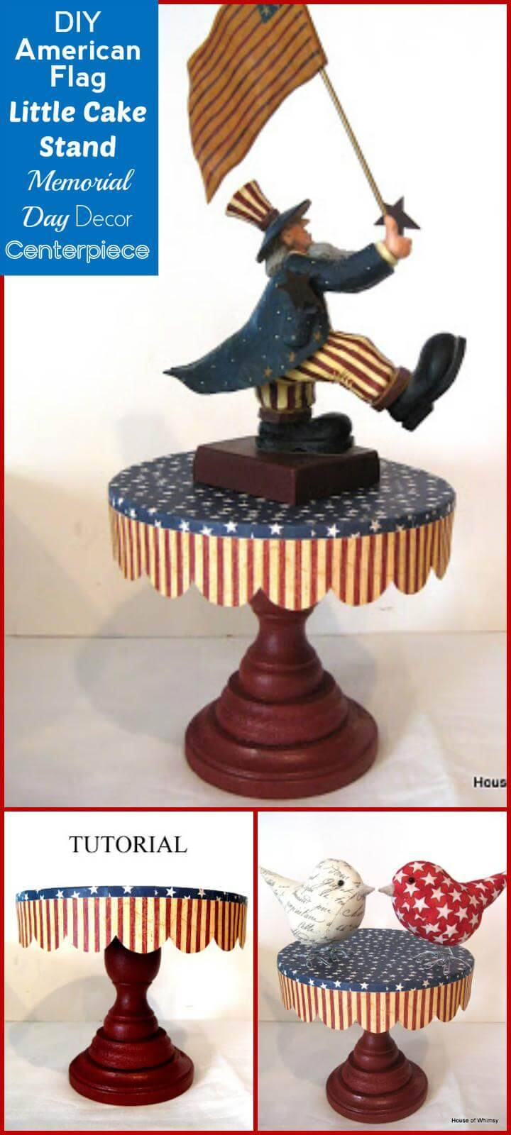 DIY Beautiful American Little Cake Stand
