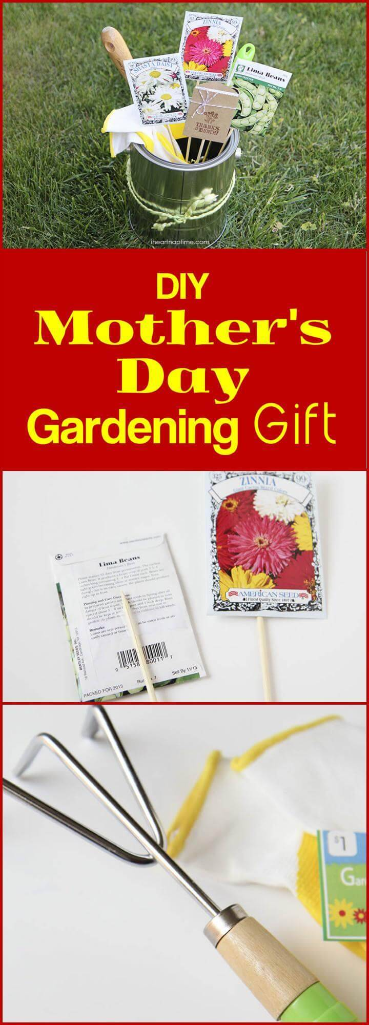 DIY Mother's Day Gardening Gift