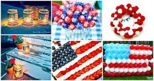 DIY 4th of July Decorations - Patriotic Fourth of July Projects