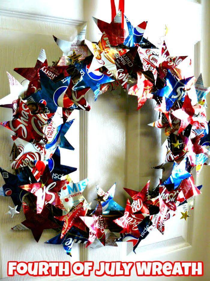 DIY 4th of July Wreath - Patriotic Wreath
