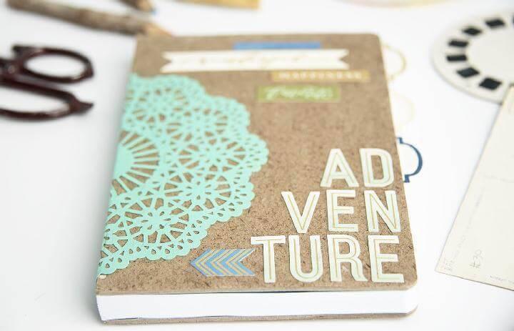 DIY Adventure Themed Notebook Gift