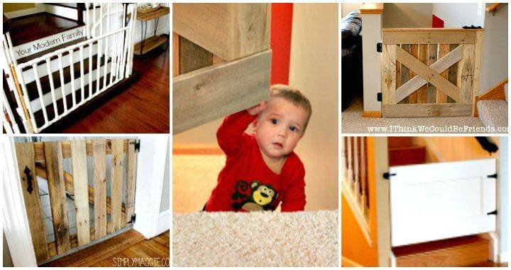 DIY Baby Gate Tutorials on Cheap Budget