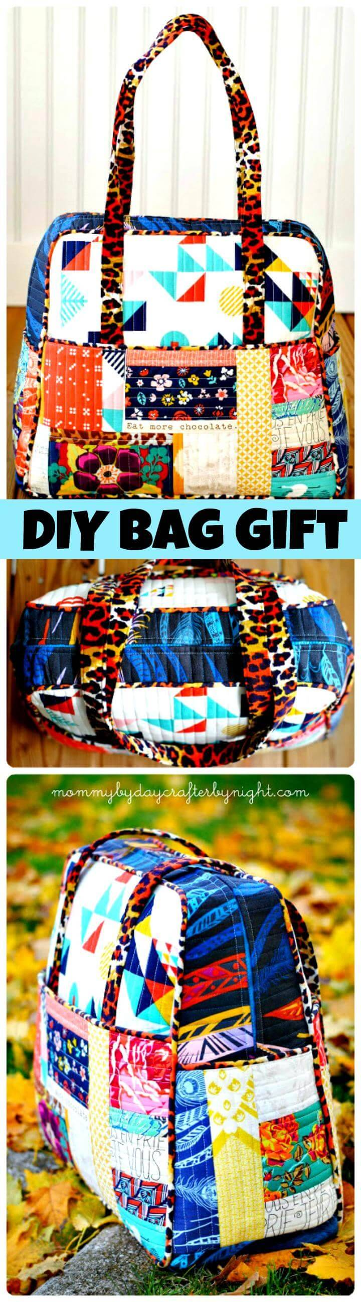 DIY bag Mother's Day gift Tutorial