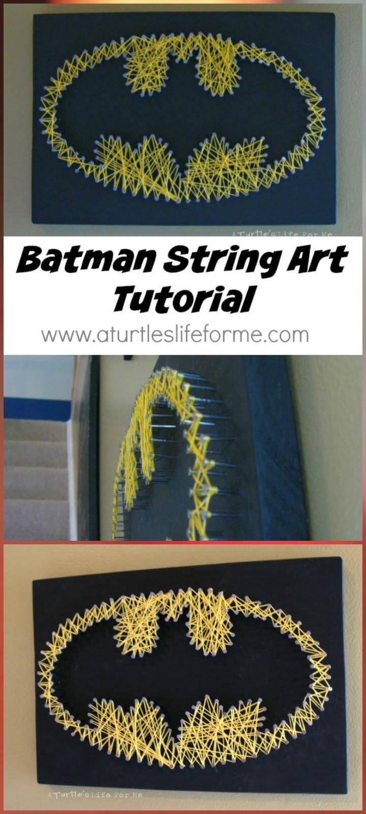 DIY Batman String Art