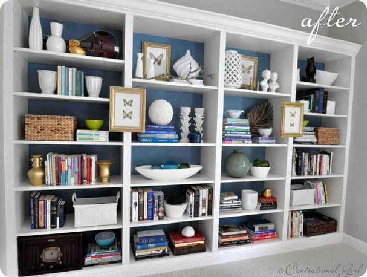 DIY Billy Bookshelves