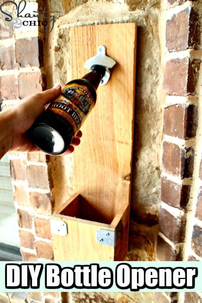 DIY Bottle Opener Father's Day Gift