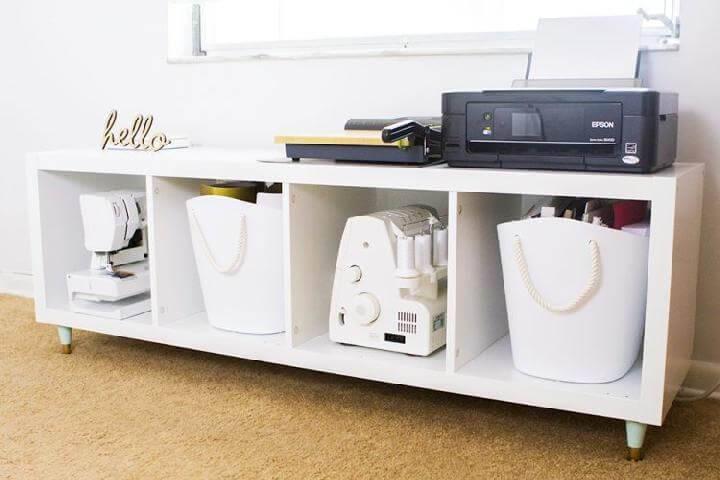 Ikea Kallax Credenza : Ikea kallax shelf hacks or diy expedit crafts