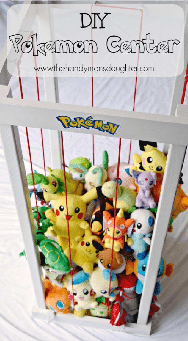 Self-Made Bungee Cord Pokemon Center