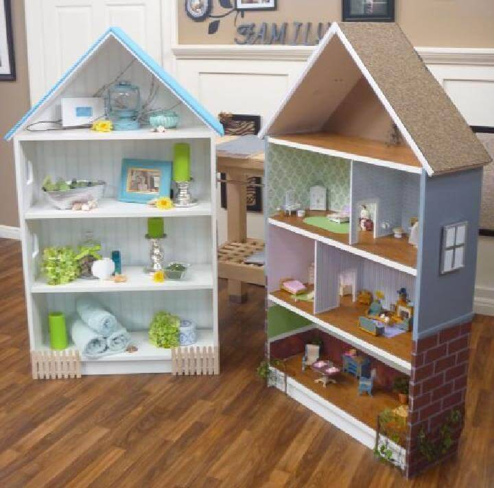 DIY Dollhouses Made of IKEA BILLY Bookcase