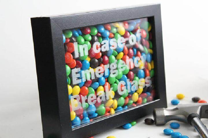 DIY Emergency Chocolate Craft Gift Idea