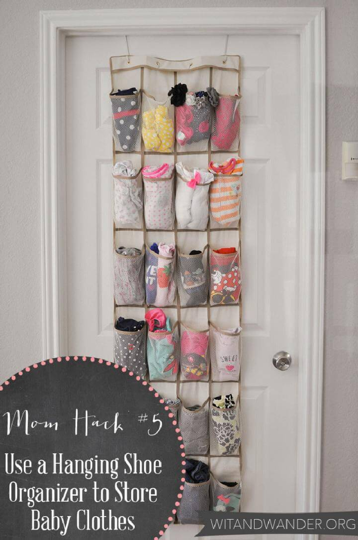 Diy 20 Insanely Genius Ways To Organize Baby Clothes ⋆ Diy