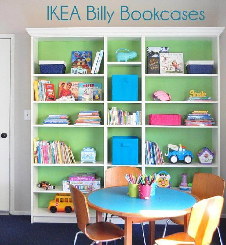 DIY Amazingly Smart IKEA BILLY Hacks Page Of DIY Crafts - Diy billy bookcase