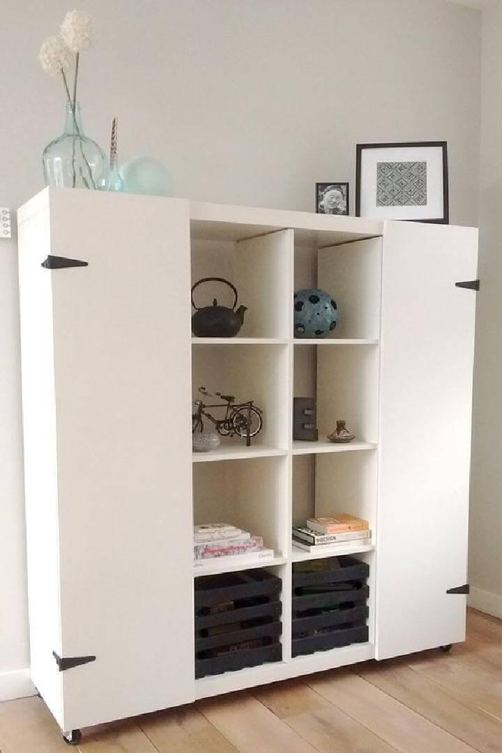 DIY IKEA Kallax Cabinet