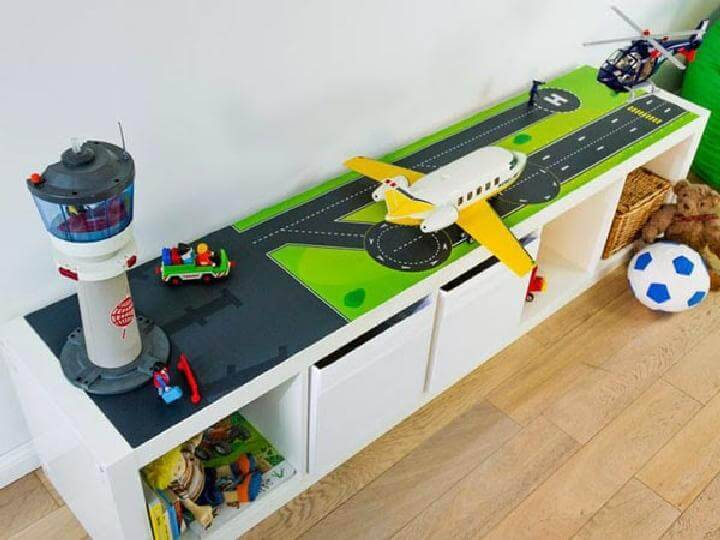 DIY Kallax Airport for Boy's Room