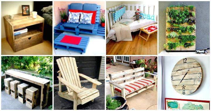 150 Best DIY Pallet Projects and Pallet Furniture Crafts - DIY & Crafts