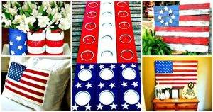 50+ DIY Patriotic Decorations to Celebrate America