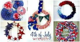 DIY Patriotic Wreath Projects
