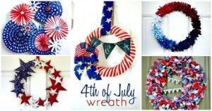 DIY Patriotic Wreath Projects