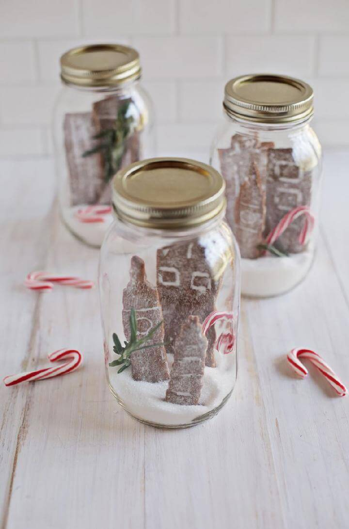 DIY Spicy Gingerbread Cookies Gift
