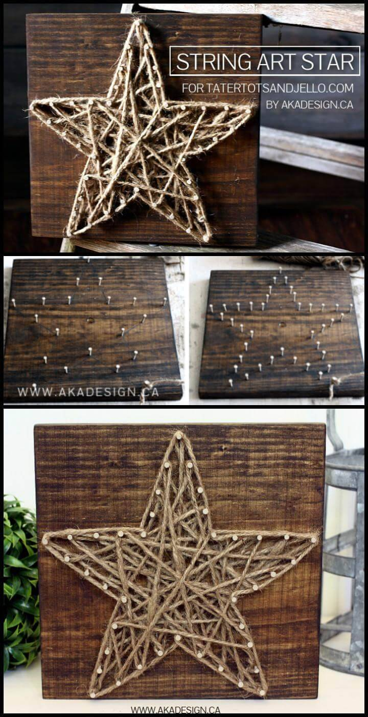 DIY String Art Sign