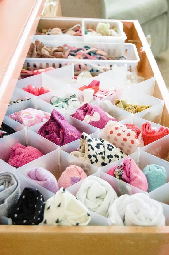 DIY 20 Insanely Genius Ways to Organize Baby Clothes ⋆ DIY ...