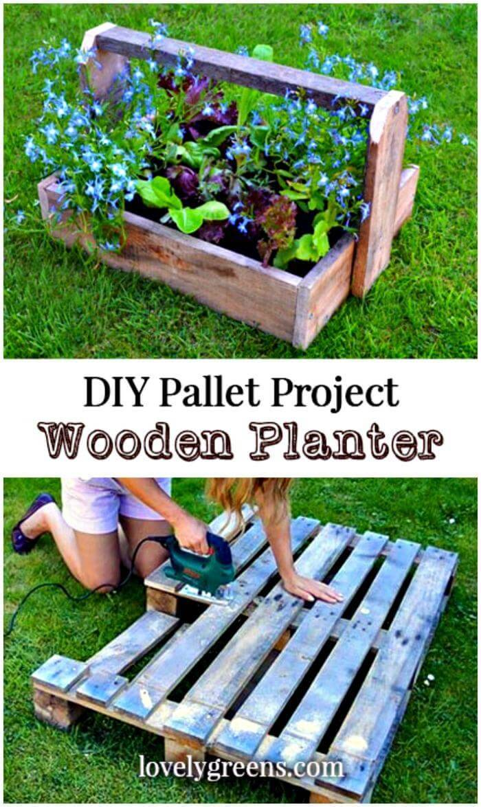 DIY Trugs & Wood Pallet Planters