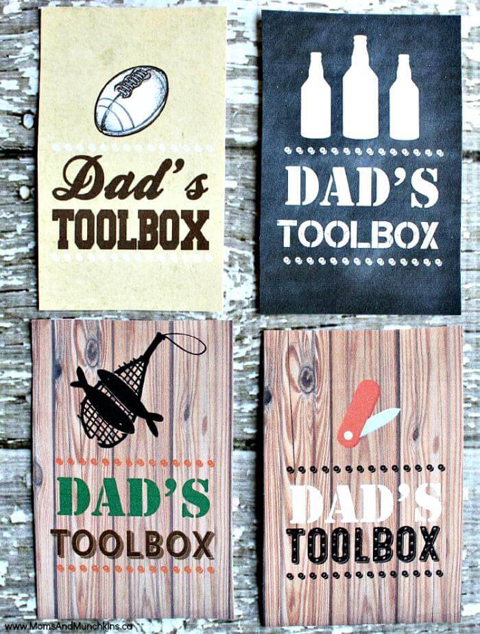 DIY Dad's Toolbox – Free Father's Day Printable