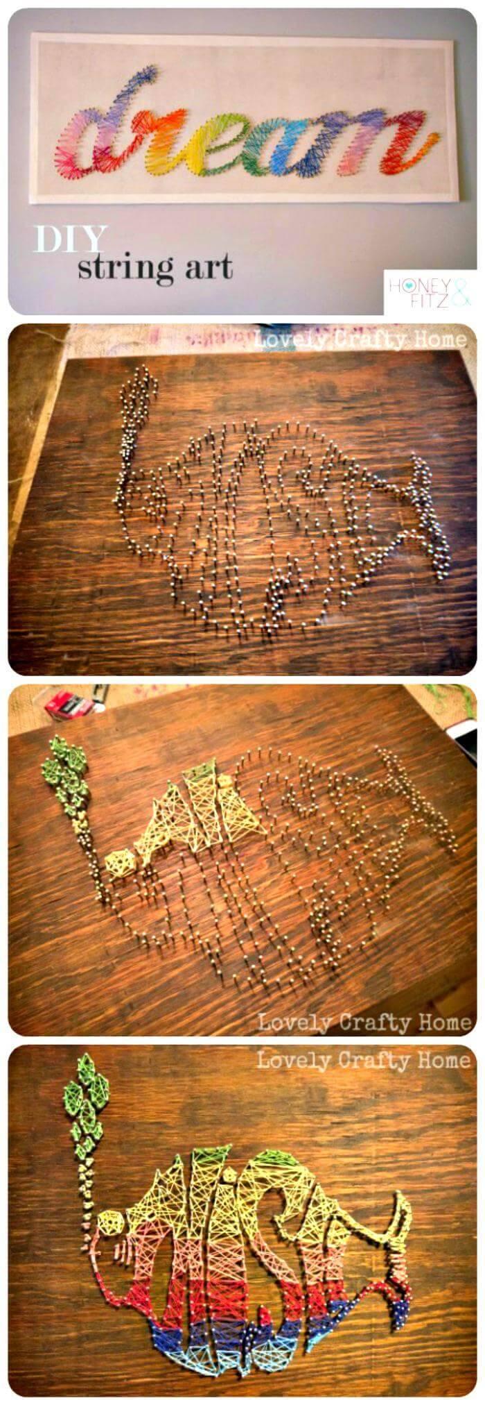 Easy DIY String Art Tutorial
