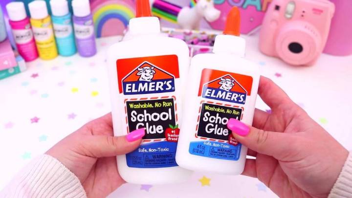 Elmer's Glue for Making Slime