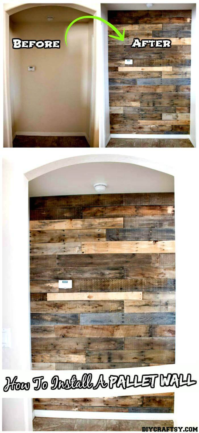 DIY Pallet Wood Tutorial