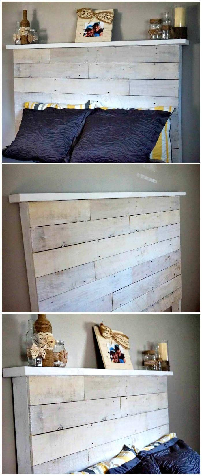 DIY Pallet Headboard Instructions