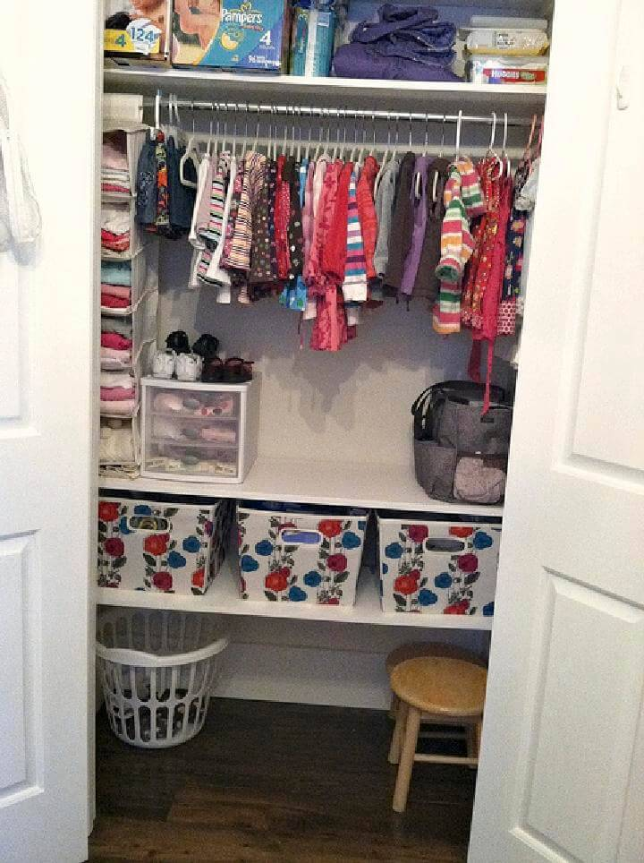 How to Store All Baby Clothes Project
