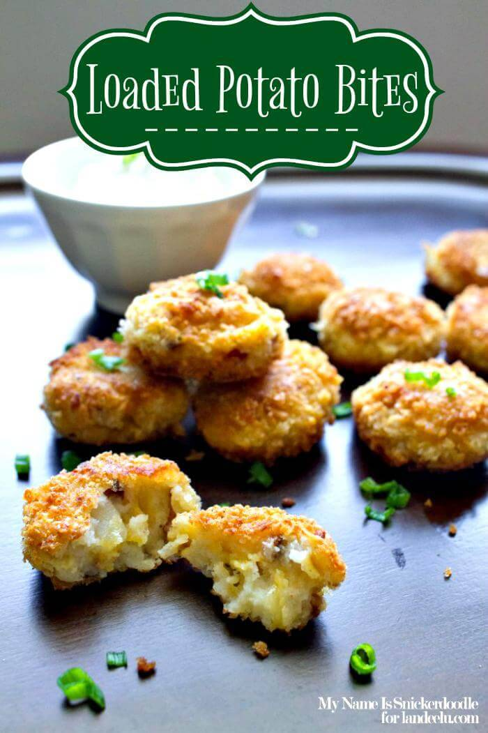 loaded potato bites recipe
