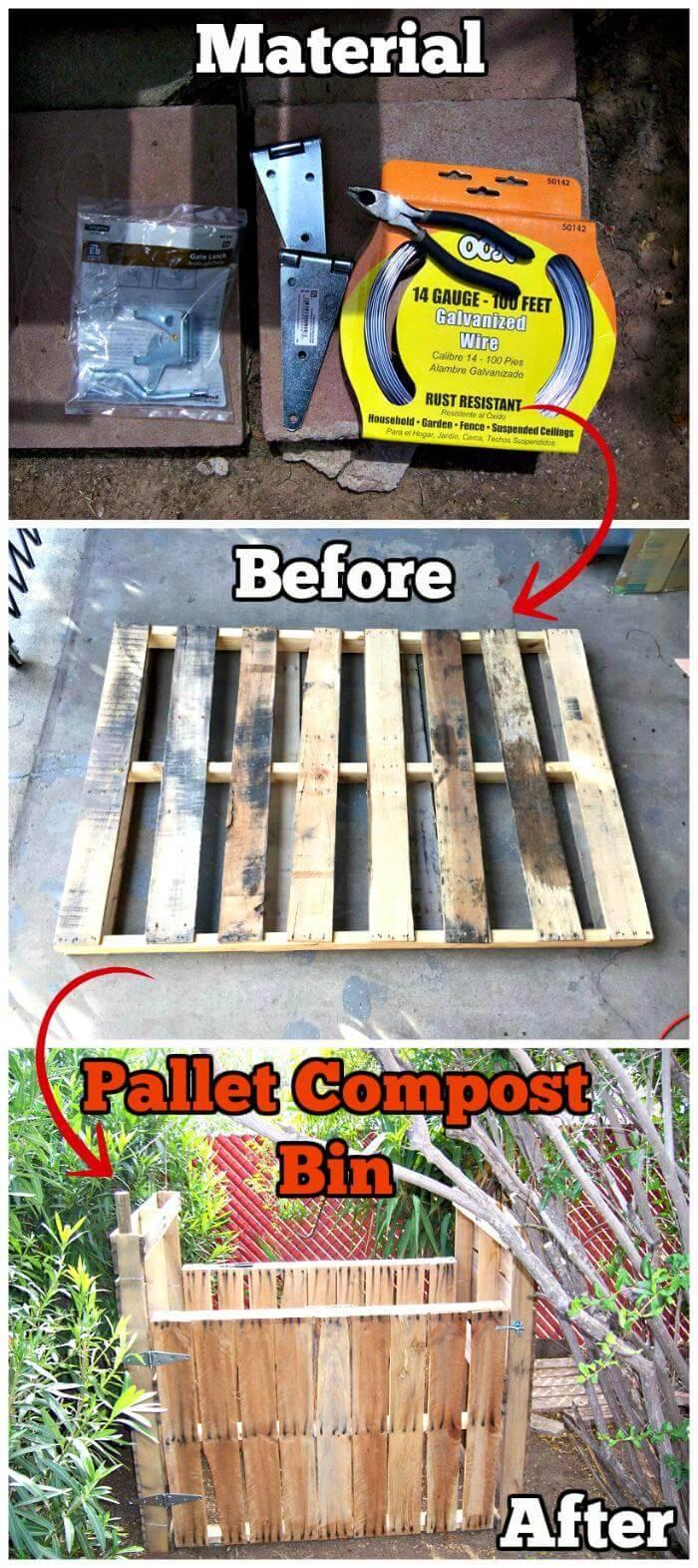 Pallet Composite Bin