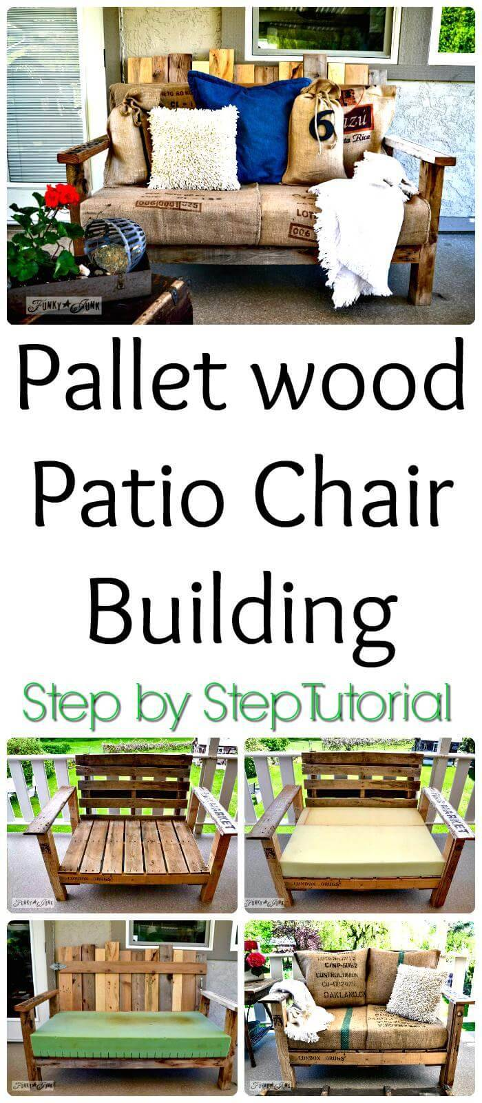 How to Build a Pallet Patio Chair