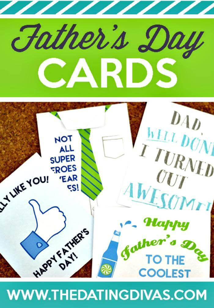 DIY Perfect Father's Day Cards