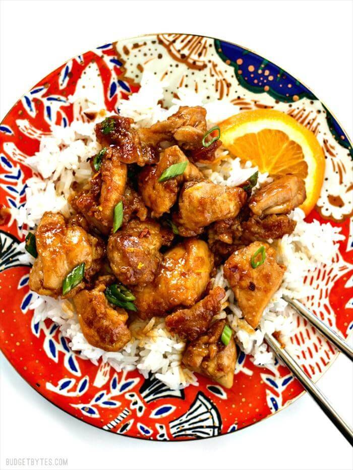Super Easy Orange Chicken Recipe